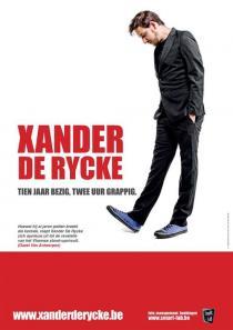 Xander De Rycke - Tien Jaar Bezig, Twee Uur Grappig Poster